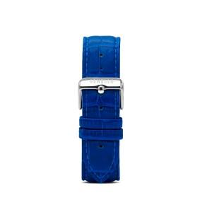 Blue Leather Interchangeable Strap