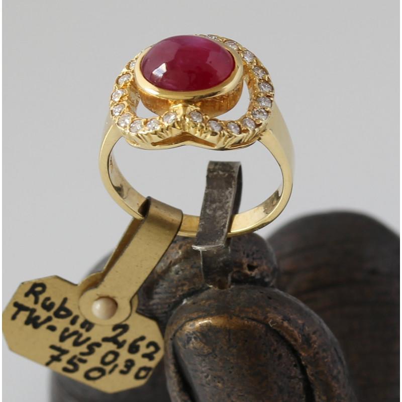 Goldringe mit rubin  Beliebtester Schmuck