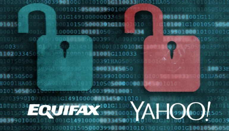 Equifax data breach and possible yahoo fraudsters