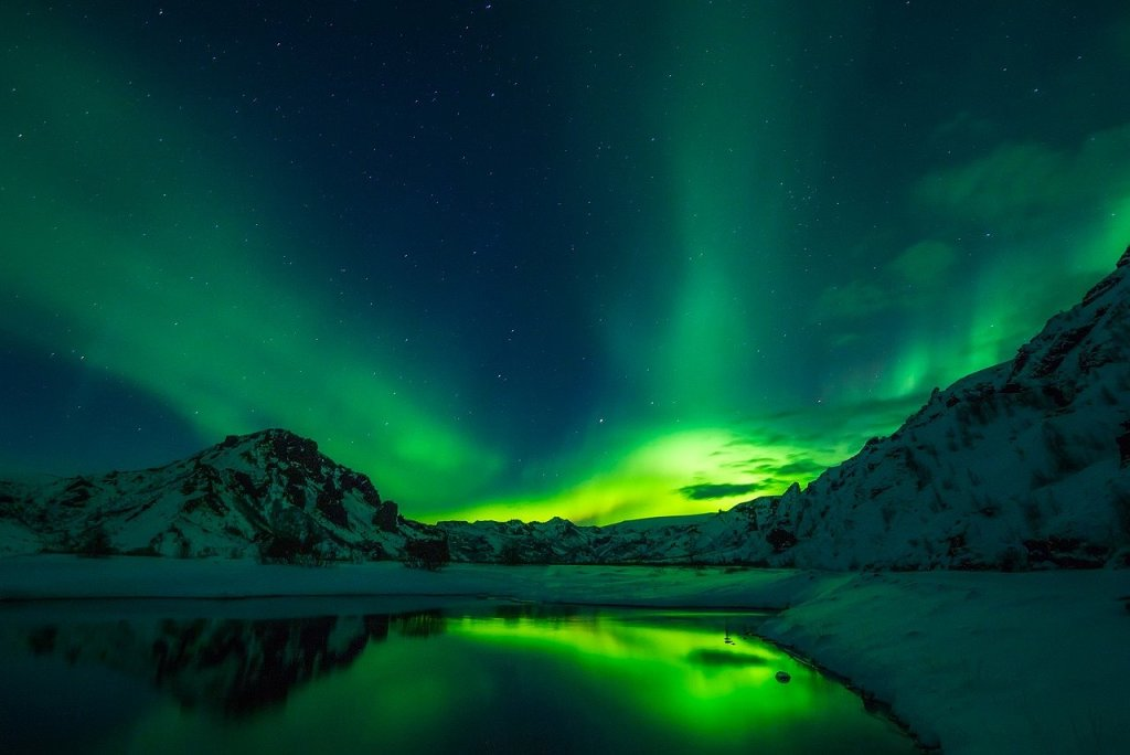 coolest places to stay in iceland, aurora borealis, northern lights
