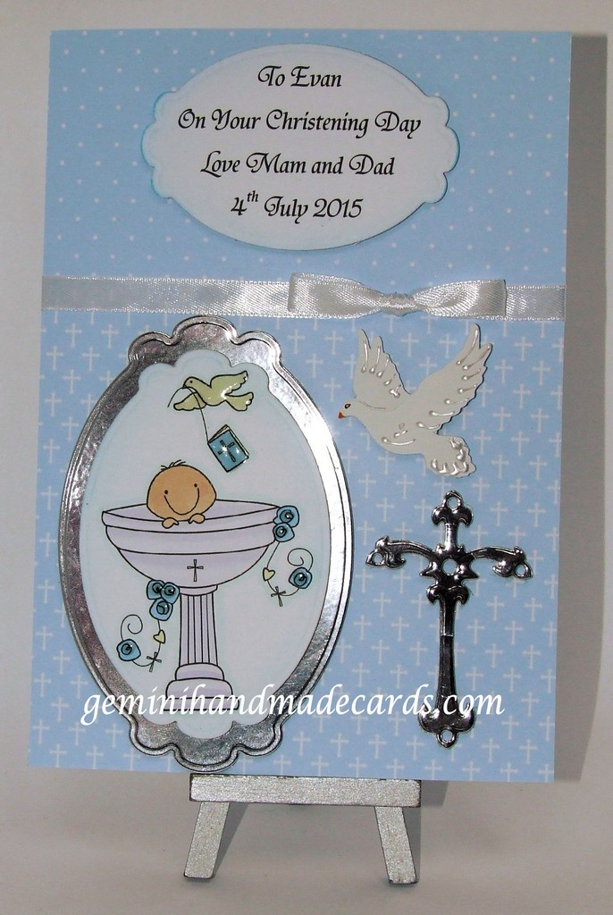 Christening cards for boys older child young adult  geminihandmadecardscom