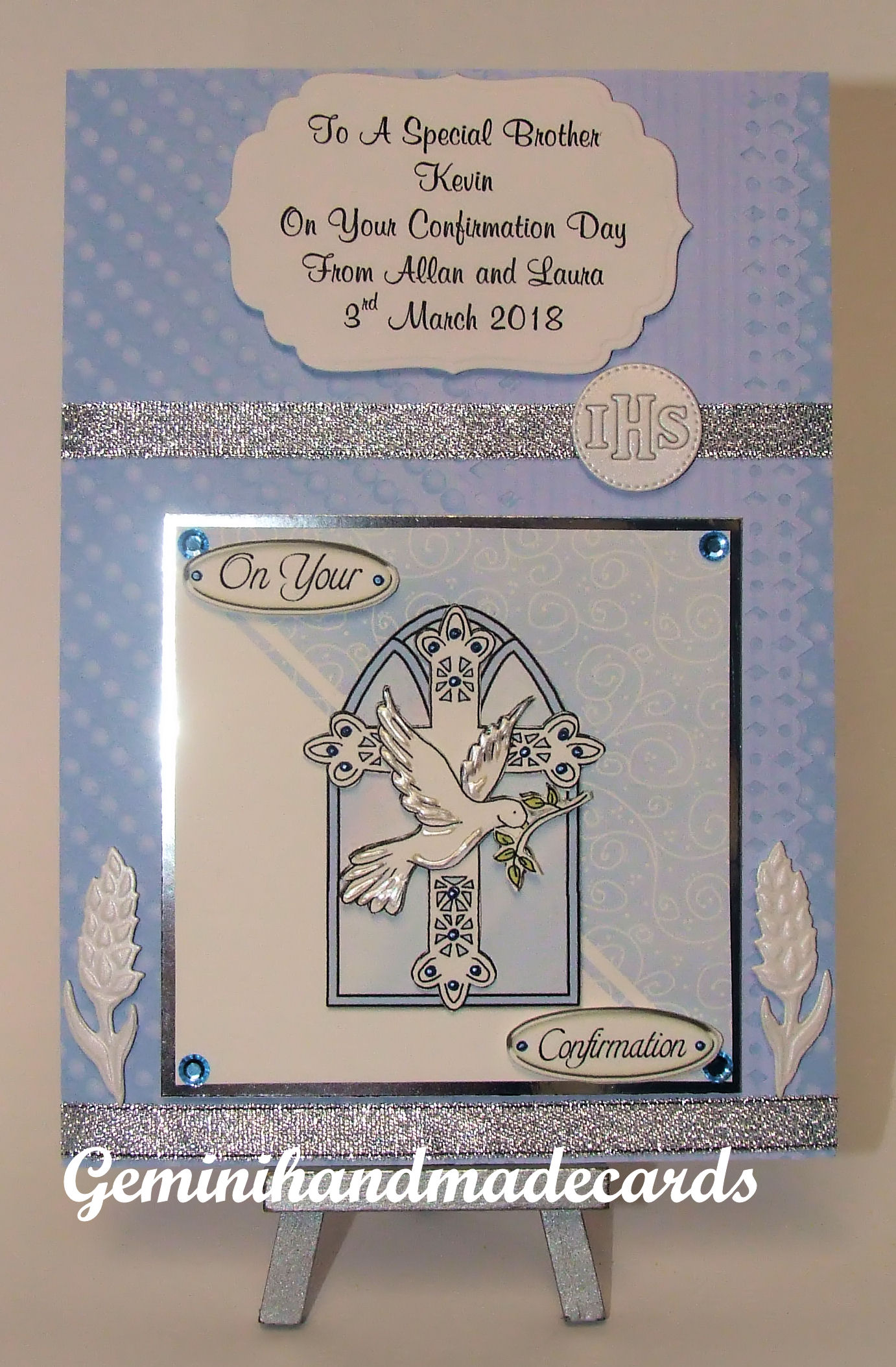 Confirmation Cards Boys Geminihandmadecards Com