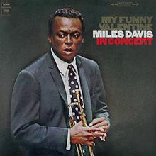 Image of Miles Davis My Funny Valentine Album Cover