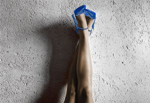 Image of Light Painting All American Legs (Blue)