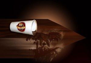 Image of Light Painting Hot Chocolate