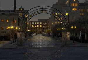 Image of Schlitz Park Light Painting