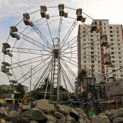 ferris wheel in the middle of nowhere