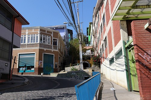 entrance to Ascensor Polanco