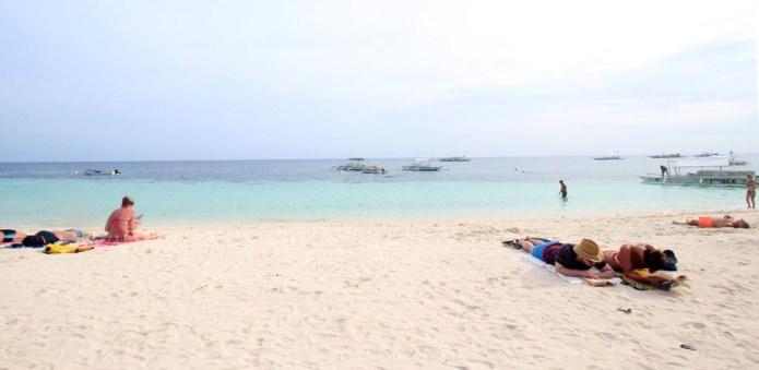 alona beach; bohol