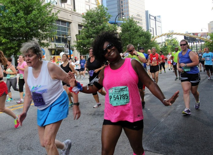 Fourth of July fun run in Atlanta