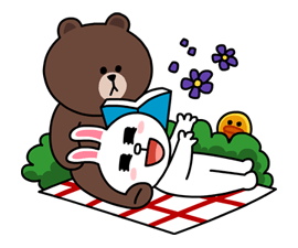 line mascot
