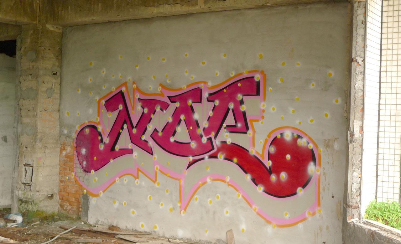 Sanzhi graffiti
