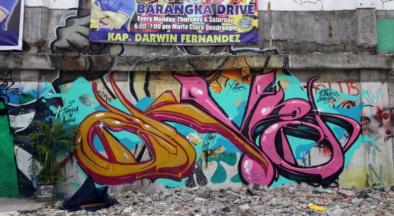 angka 24 grafiti