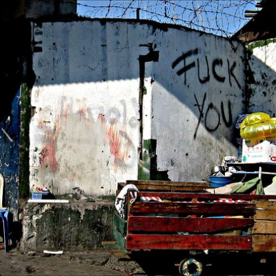 fuck you on a quezon city wall