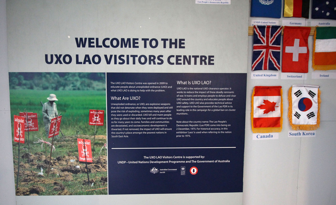 UXO Lao Visitors Centre