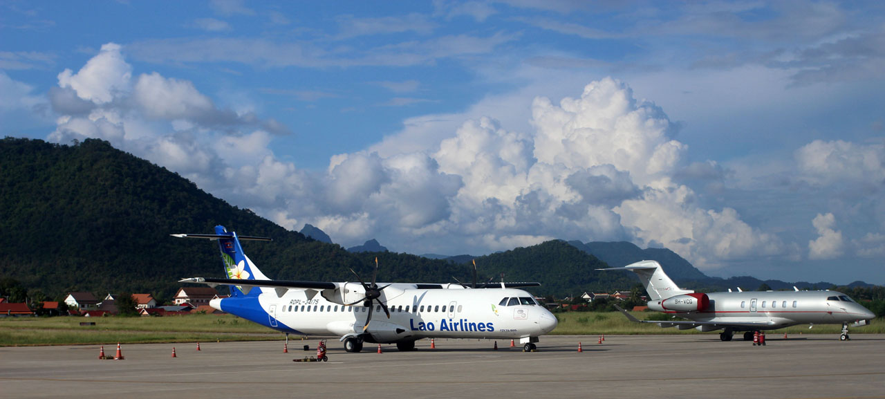 Lao Airlines- Luang Prabang International Airport
