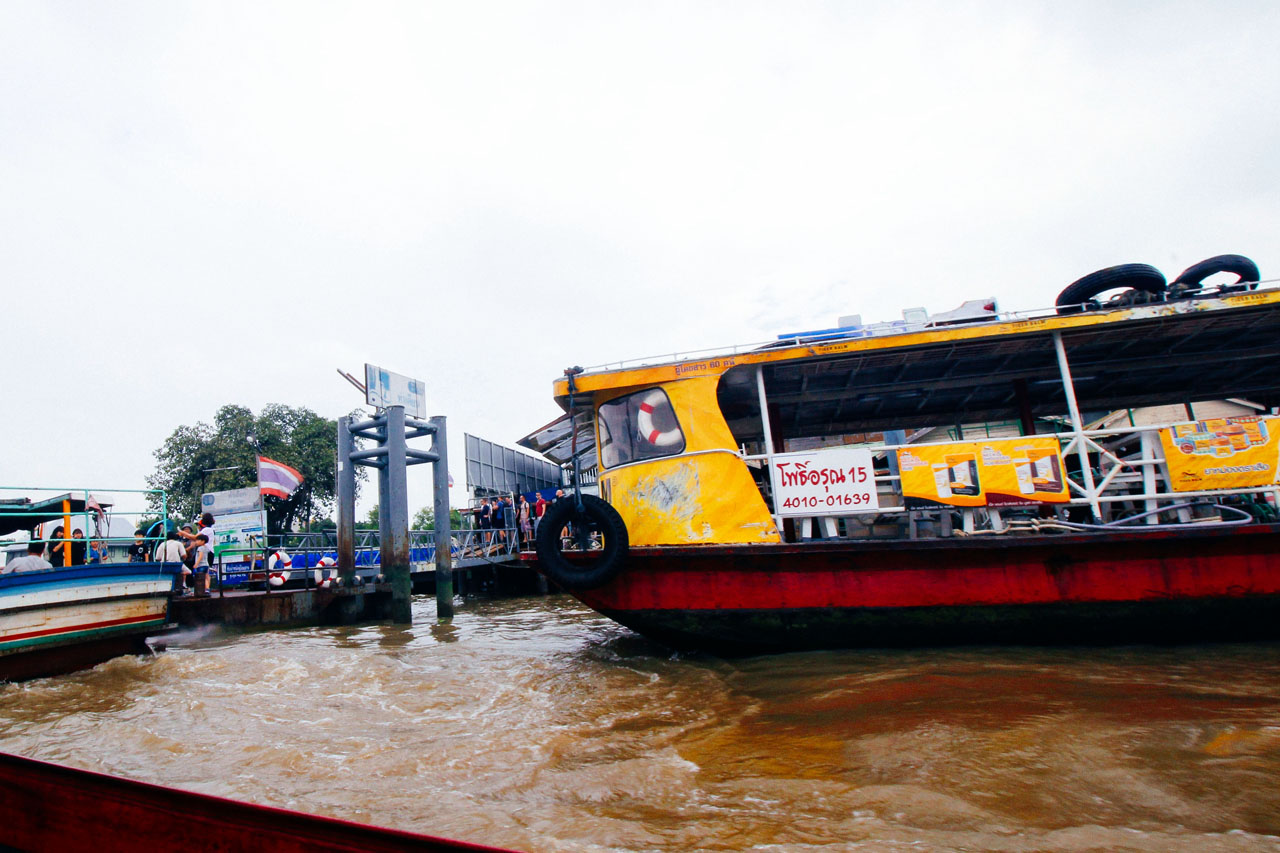 ferry along the Chao Phraya River