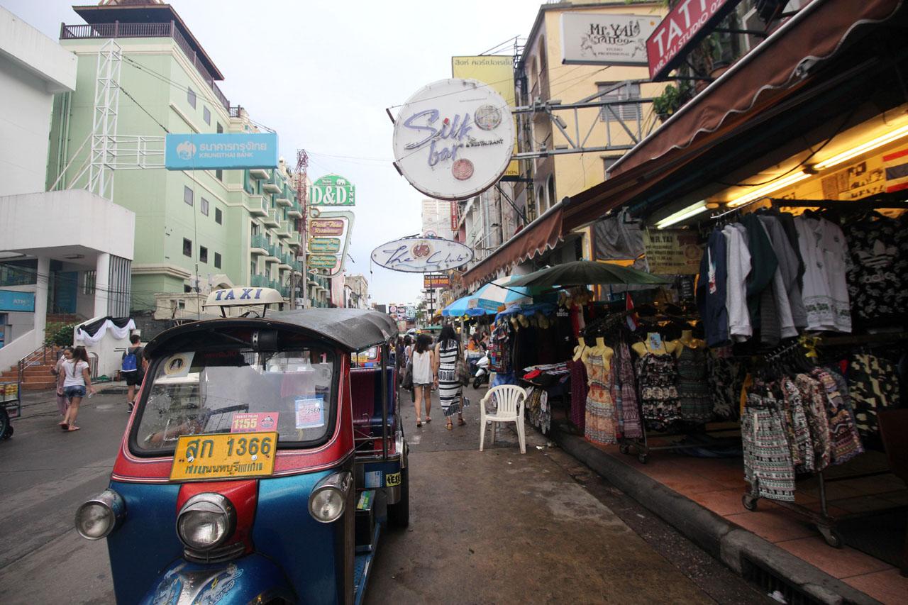 Khao San Road tuktuk