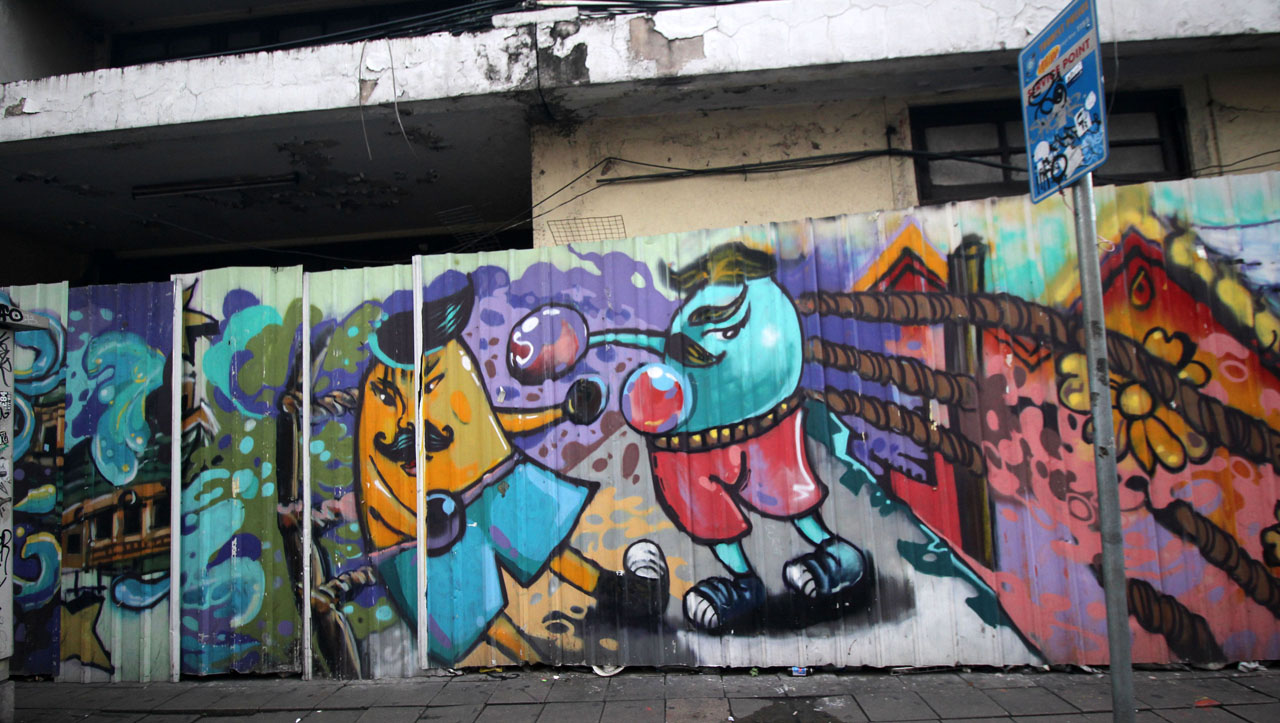 24- Day 8- graffiti near Khao San Rd- 8