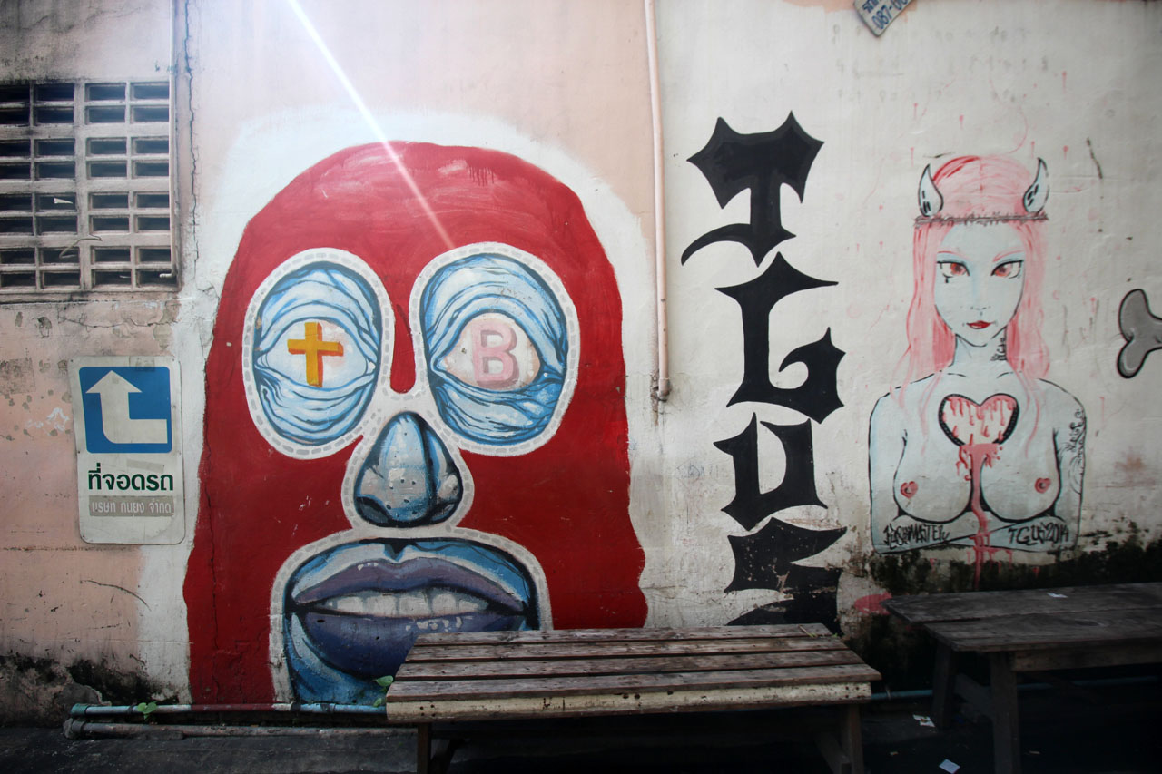 5-Day 2- graffiti in Ratchathewi – 4