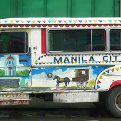 manila city band jeepney