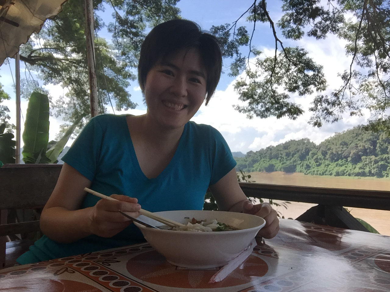 Gem eating – Mekong River
