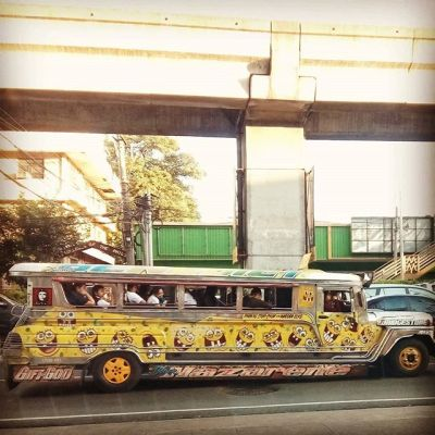 Minions on a jeepney