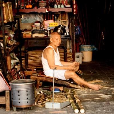 bamboo craftsman