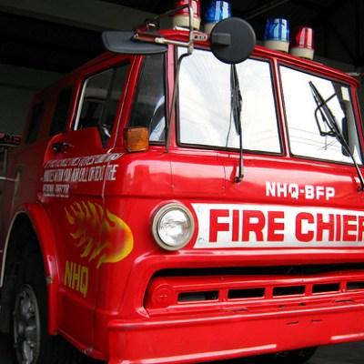 fire chief firetruck