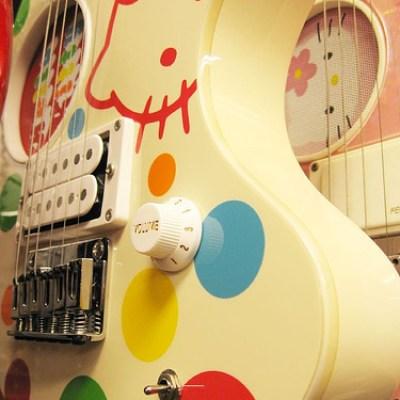 Hello Kitty Electric Guitar