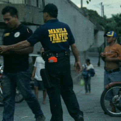 Manila traffic cop