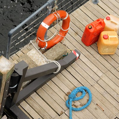 objects on deck