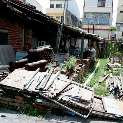 rundown houses in liu cha
