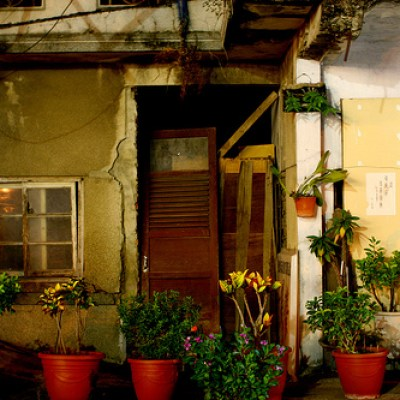 rundown Tainan City house
