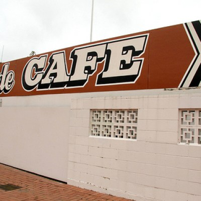 lakeside cafe
