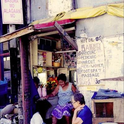 sidewalk beauty parlor