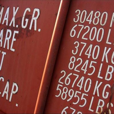 container van numbers