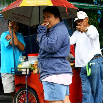 quezon city fruit stall