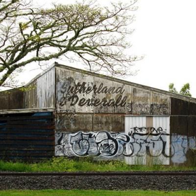 Huntly graffiti
