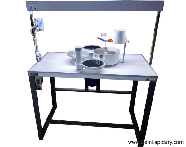 speed control automatic gem cutting machine