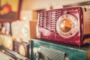 old portable radios