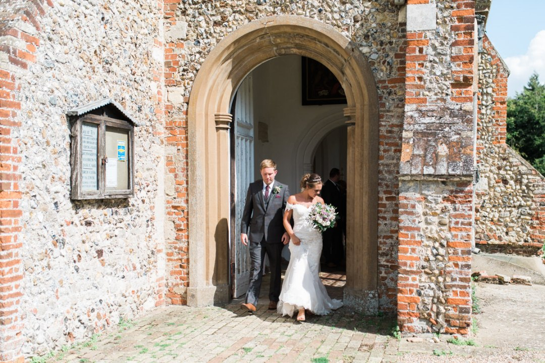 St Barnabas Church in Great Tey wedding photographer
