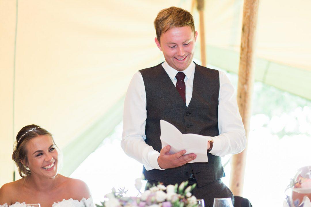 Coggeshall garden tipi wedding