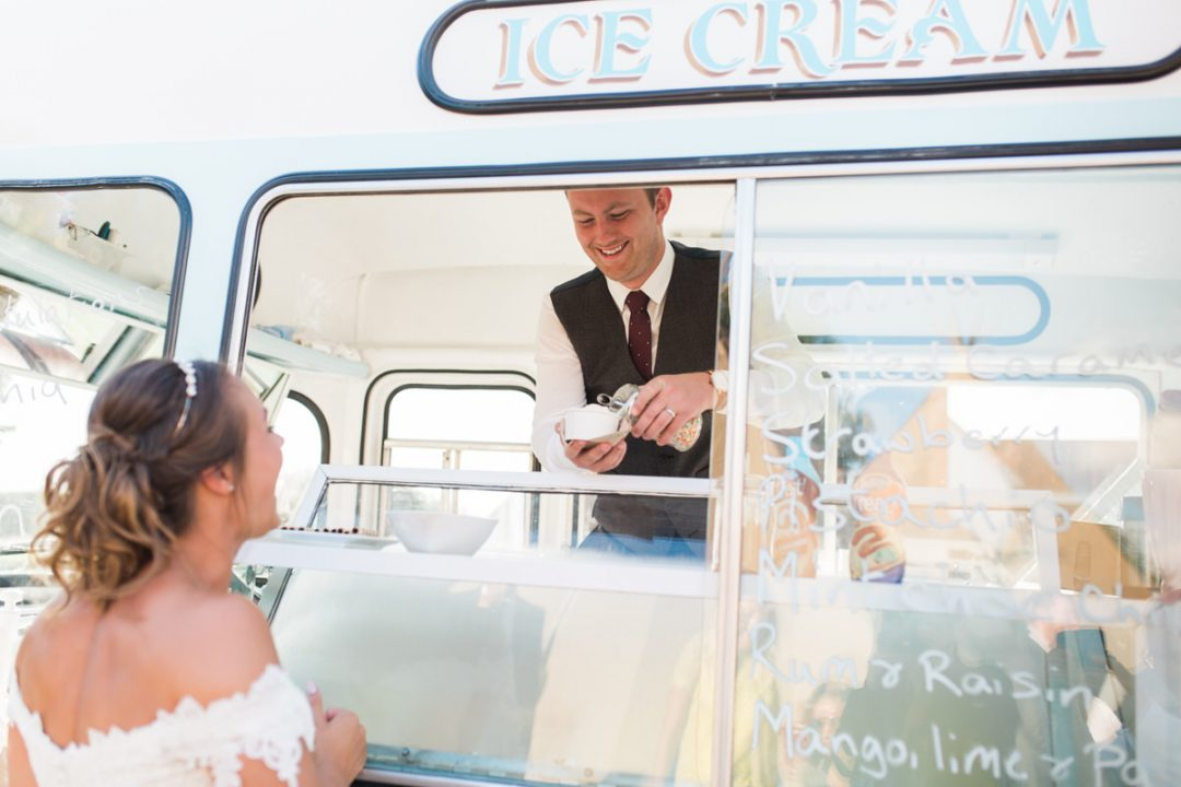 Molly Moo's Ice's ice cream van