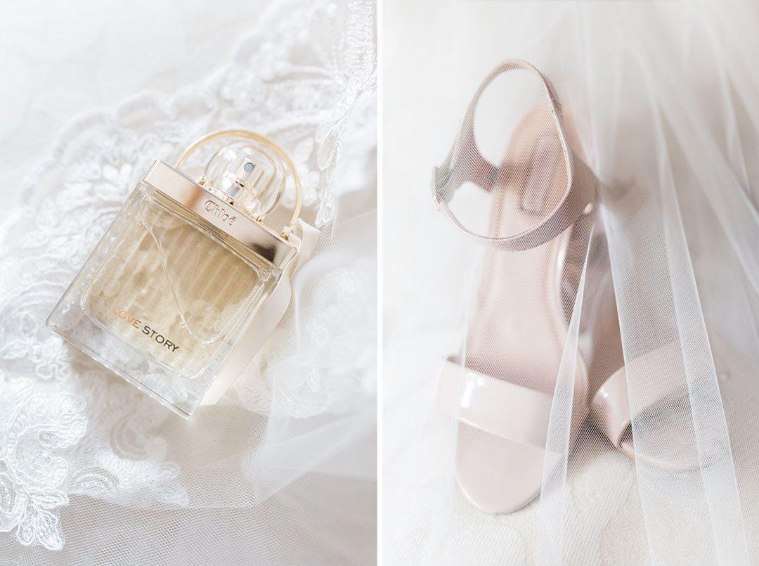morning bridal details