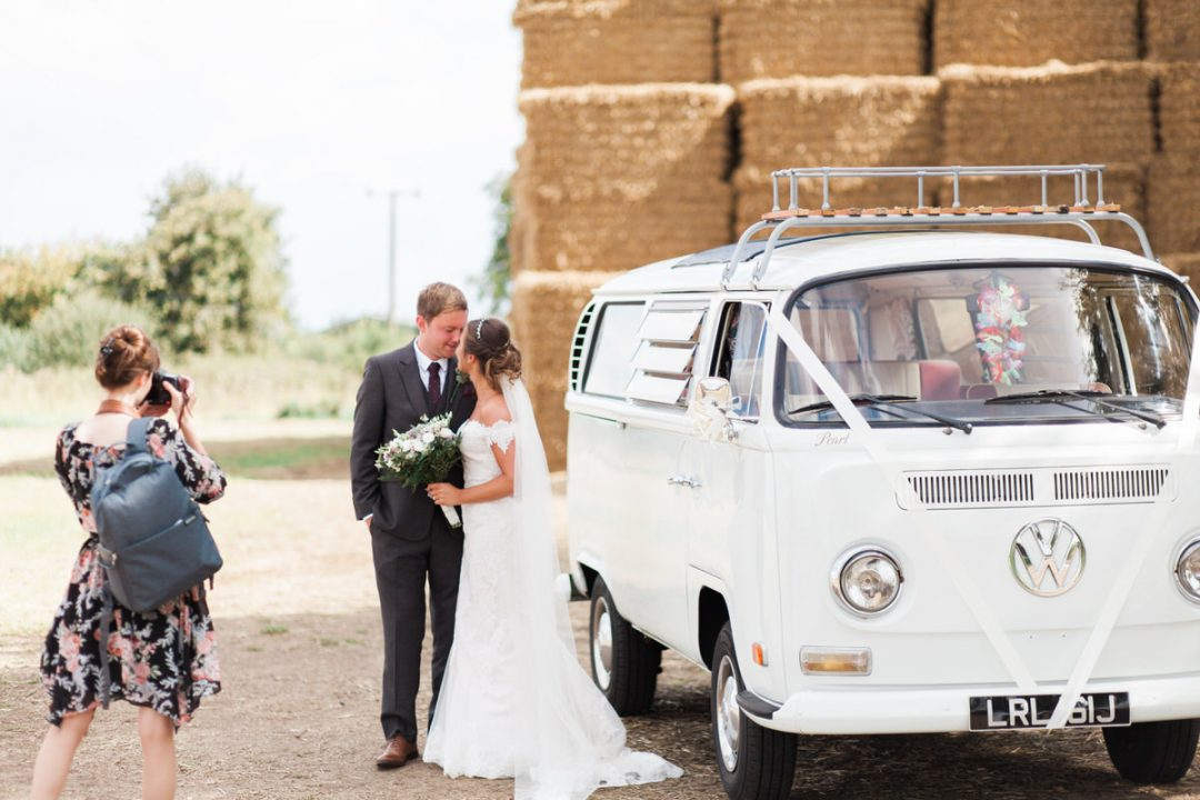 The benefits of having a second photographer at your wedding