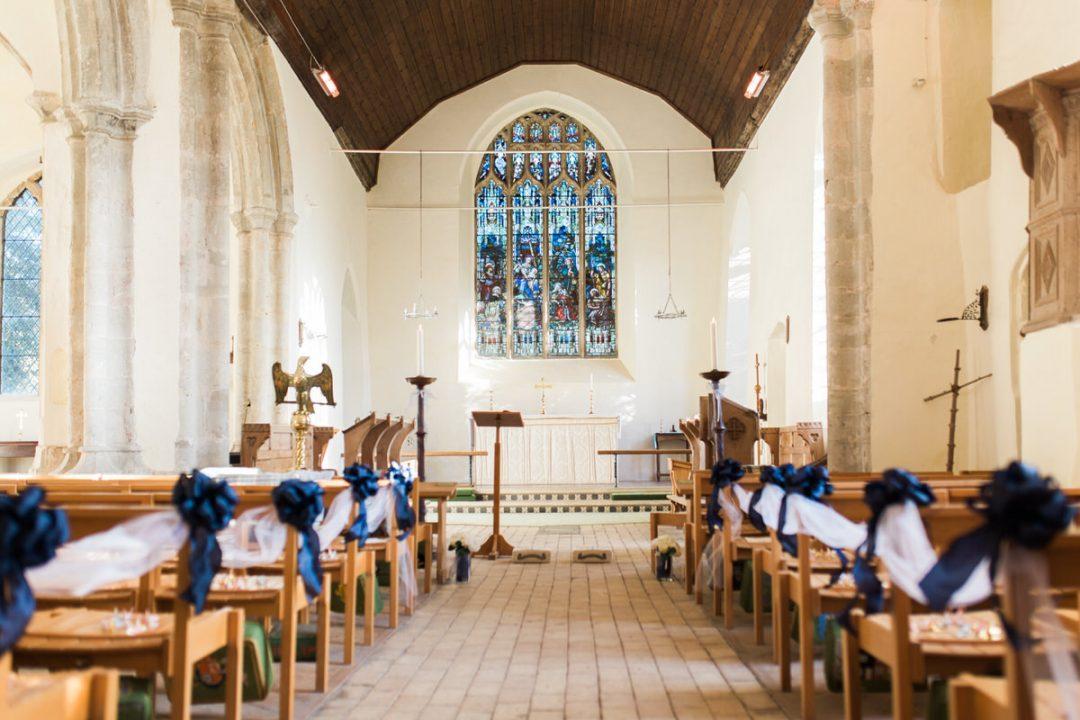 Inside Mersea Island Church