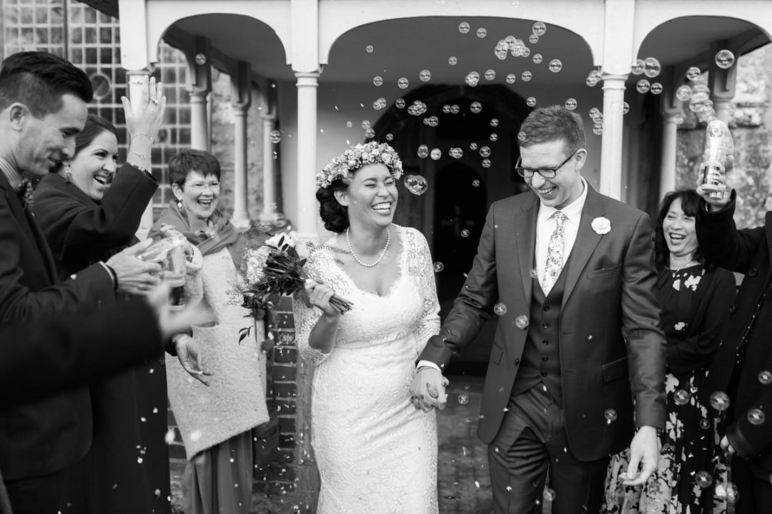 Saint Edmund Church wedding in East Mersea