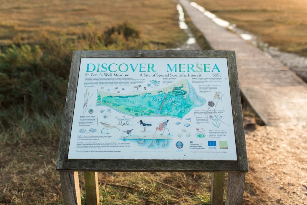 Discover Mersea map