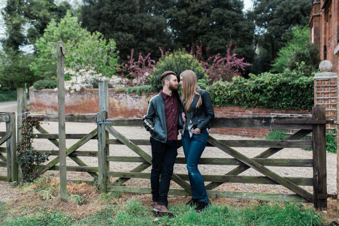 Suffolk engagement shoot